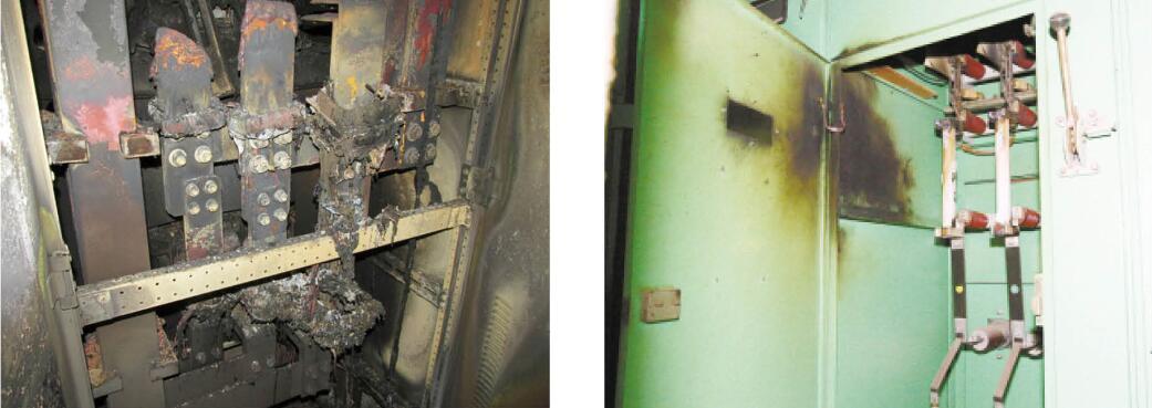 喷涂母排专用绝缘胶前产生的爆炸事故